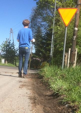 Odwodnienie drogi